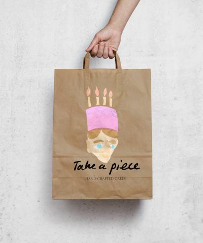Cake Shop Logo Design Madeleine Farr